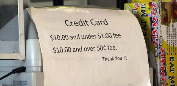 Retailers May Soon Charge Fees for Those Who Use Credit Cards