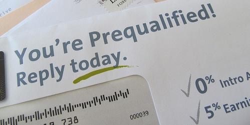credit mailer