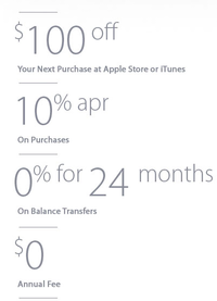 apple financing