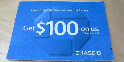 Chase $100 bonus