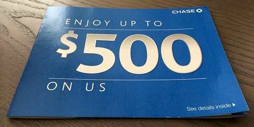 chase 500 offer