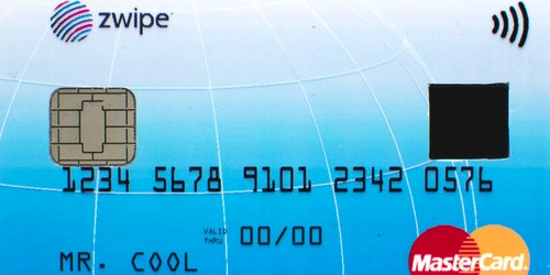 MasterCard and Zwipe Launch Biometric Credit Card