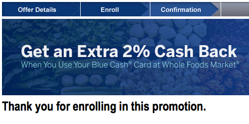 Earn Up to 8% Cash Back at Whole Foods with American Express