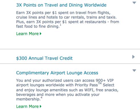 travel benefits