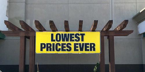 lowest price