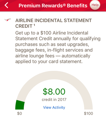 BofA air credit