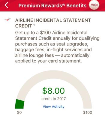 BofA air credit