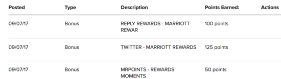 Marriott point bonuses