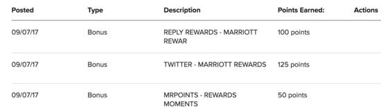Marriott point bonuses
