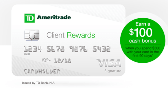 Is the TD Ameritrade Client Rewards Credit Card a Good Deal